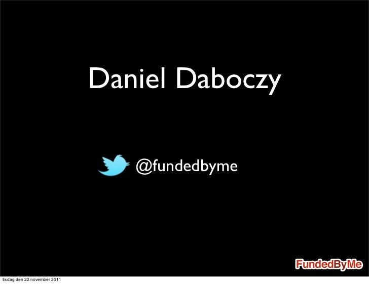 Keynote internetdagarna daniel daboczy