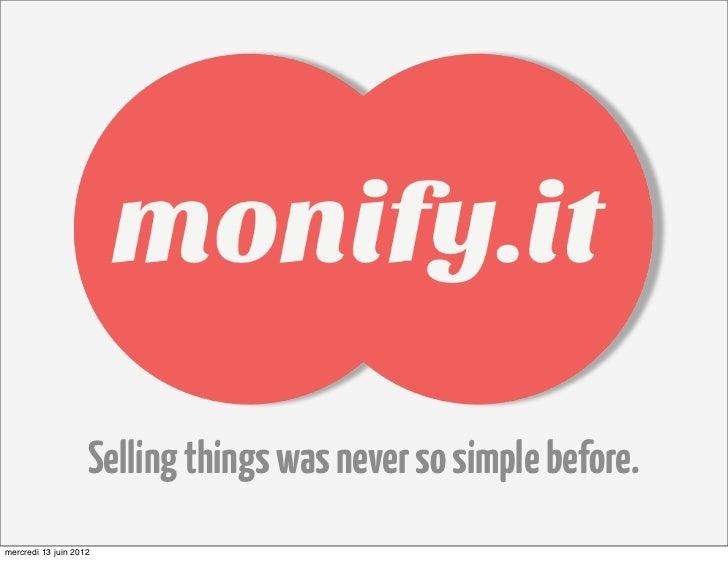 Monify.it pitch