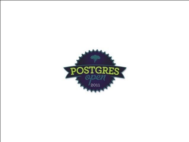 Postgres Open Keynote: The Next 25 Years
