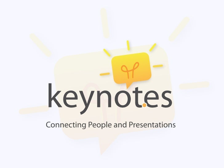 Connecting People and Presentations