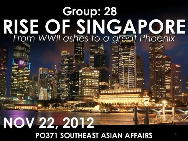 Rise of Singapore
