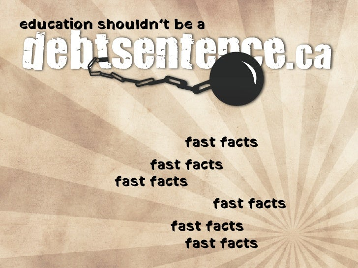 education shouldn't be a                          fast facts                  fast facts             fast facts           ...