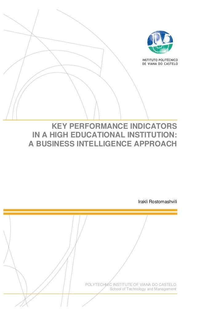 Key performance indicators bi aproach_irakli_rostomashvili_19112010
