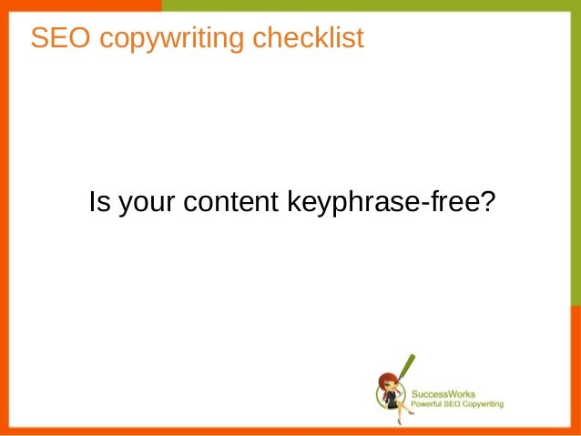 SEO Copywriting Checklist: Is your content reaching your target audience?