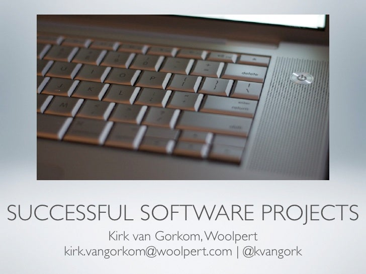 Keys to a Successful Software Development Project