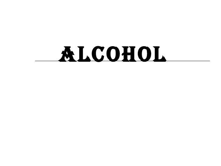 Key Skills   Alcohol Powerpoint