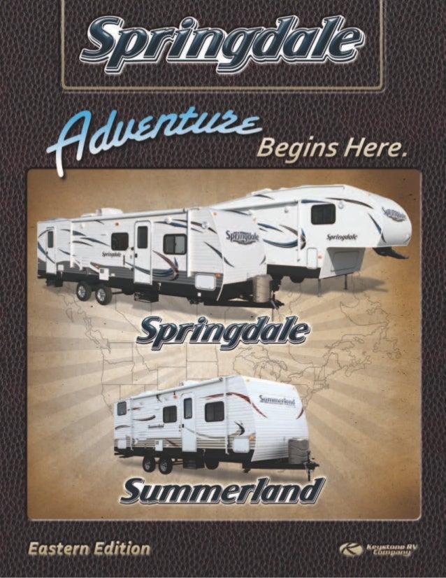 Keystone Springdale East 2013 Brochure
