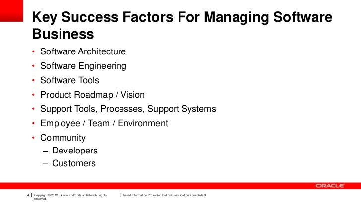 nestles 3 key success factors