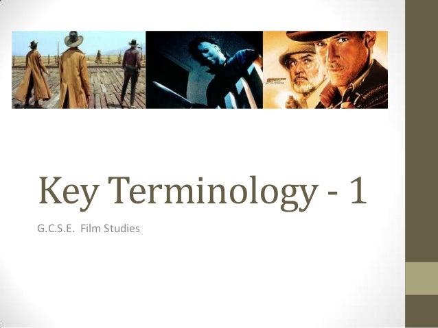 Key terminology 1