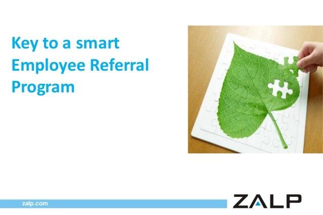 Key to a smart Employee Referral Program  zalp.com