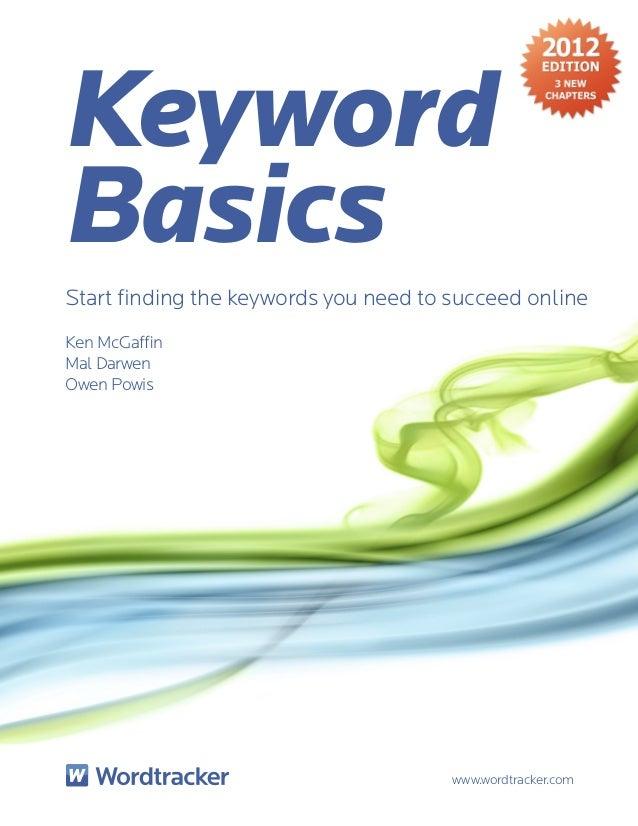 Keyword basics-final