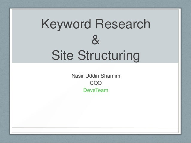 Step By Step Guide of Keyword Research For Blog & Affiliation