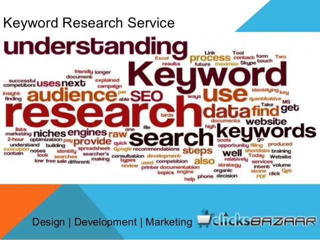 Keyword Research Service Design | Development | Marketing