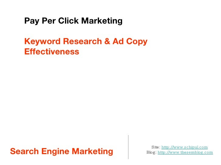 Intro to PPC Keyword Research and Ad Writing