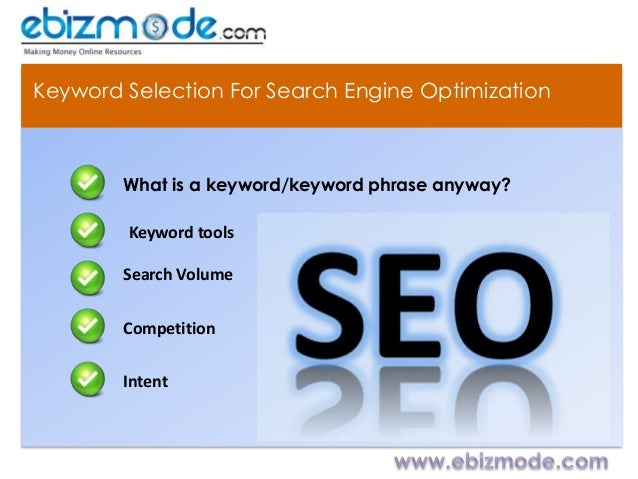 4 Ways to Select Keyword for search engine optimization - SEO