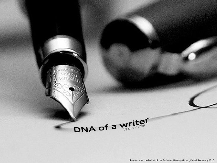 Dna Of A Writer