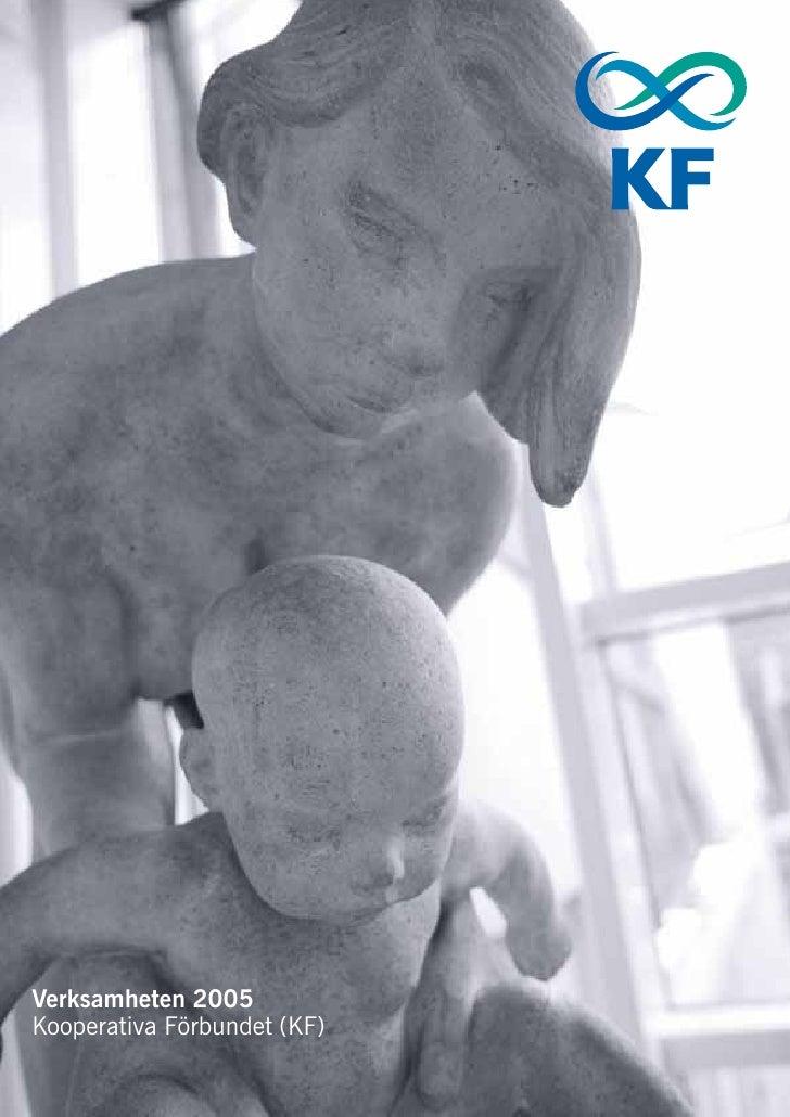 Verksamheten 2005 Kooperativa Förbundet (KF)