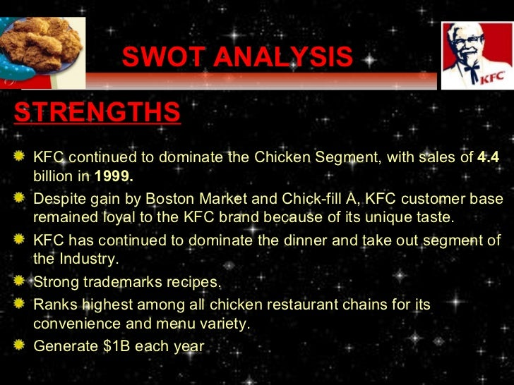 pest analysis yum brands Kfc swot analysis by kasi | swot analysis  the company has become a brand of yum brandsinc in 1997, which is the largest food chain around the globe.