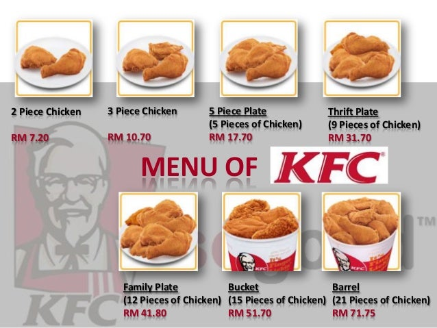 KFC PRESENTATION SLIDE