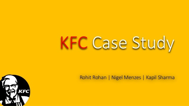 KFC 5-C Brand Analysis