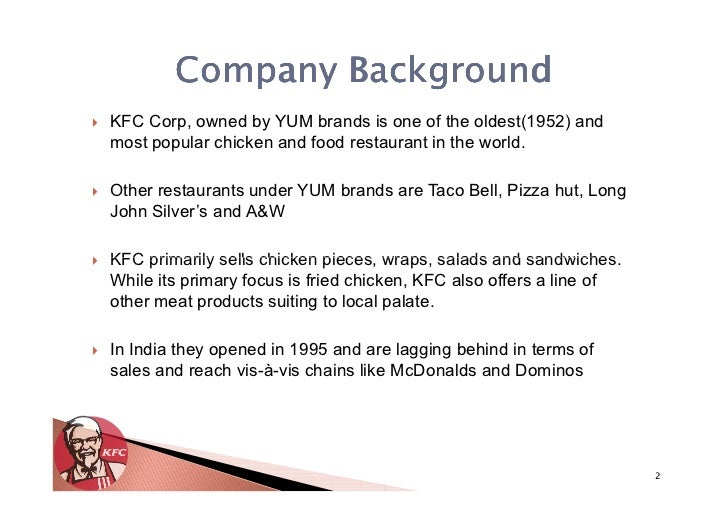 kfc strategic brand managemnt essay
