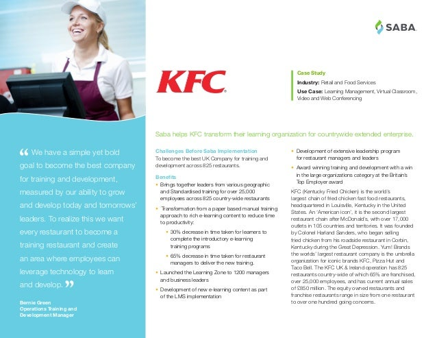 ® • Development of extensive leadership program for restaurant managers and leaders • Award winning training and develop...