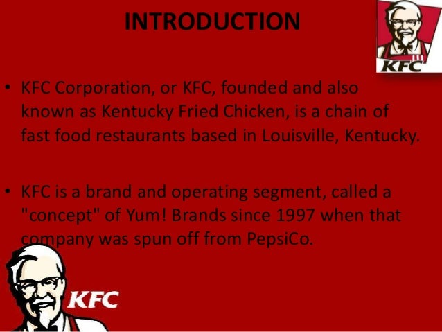 kfc strategic assignment eg By early 000, kfc had refocused its international strategy on several high growth markets such as canada, australia, uk, china, korea and etc kfc hope planned to expand their company owned business into other international market in europe and lain america in future.