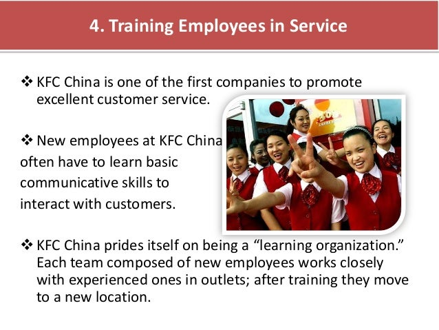 kfc case study human resouce problem china And there is also human resource problem existing in the southern asia area of the kfc-lacking of the management people tony wang does not have enough people to.