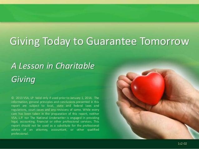 Kfs charitable giving