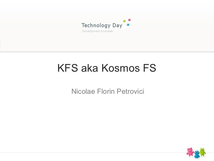 KFS aka Kosmos FS  Nicolae Florin Petrovici