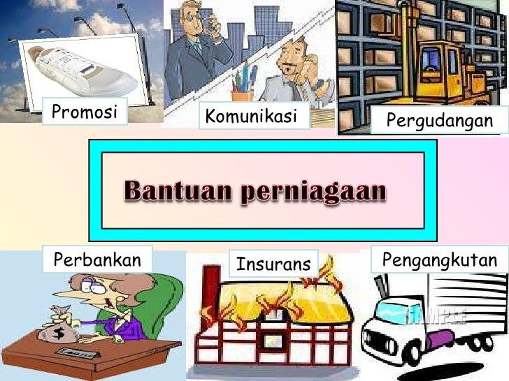 Pengangkutan Pergudangan Insurans Perbankan Komunikasi Promosi