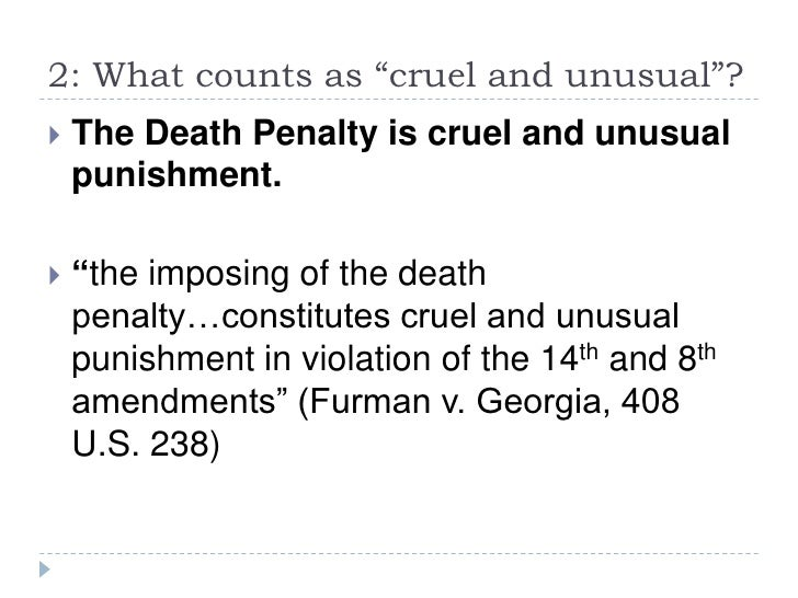 Death penalty dissertation