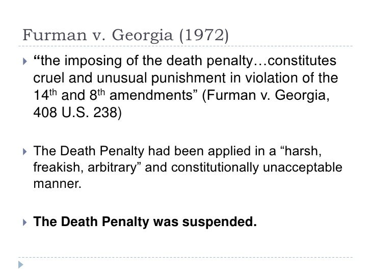 thesis paper on the death penalty