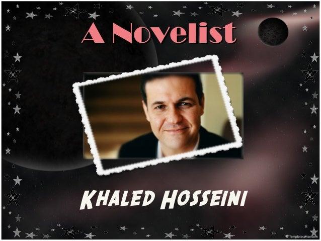Khaled Hosseini_The Afghan Novelist