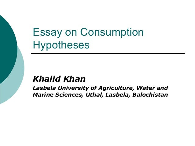 consumption essay questions Free food consumption papers, essays, and research papers.
