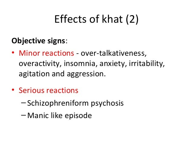 the impact of chewing khat and Side effects & safety khat is possibly unsafe for most people when taken by mouth although it isn't associated with physical addiction, it can cause psychological dependence  chewing khat .