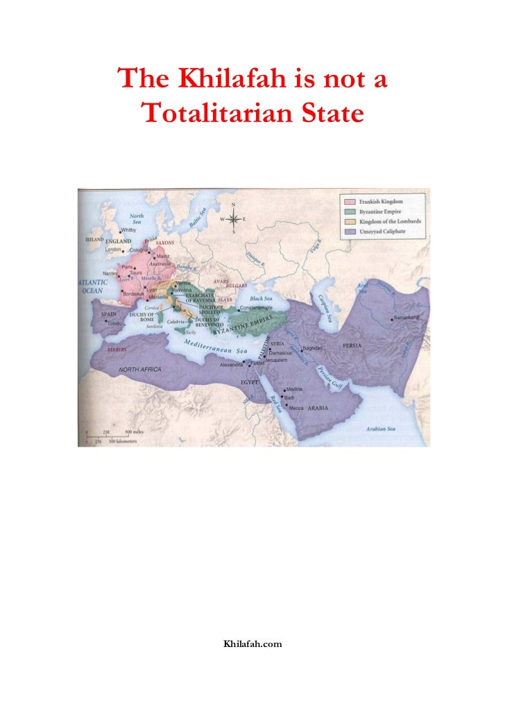 Khilafah is not a totalitarianstate