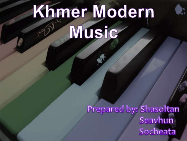 Khmer modern music