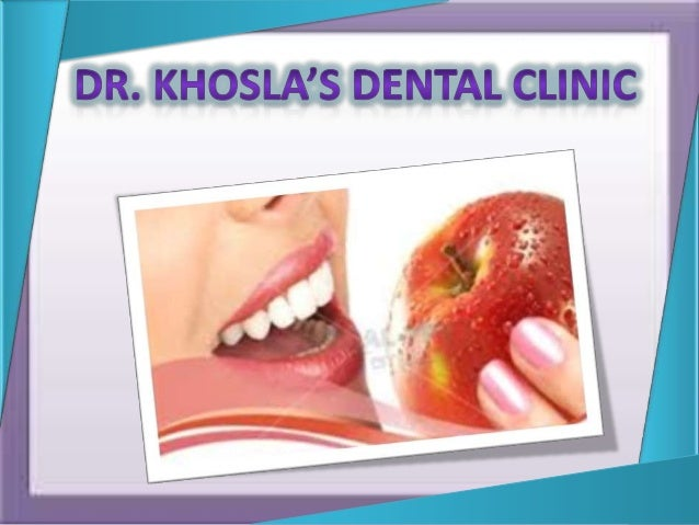 Welcome to Dr. Khosla Dental Care is a premium dental care facility in our sprawling city of Gurgoan situated in a posh ar...