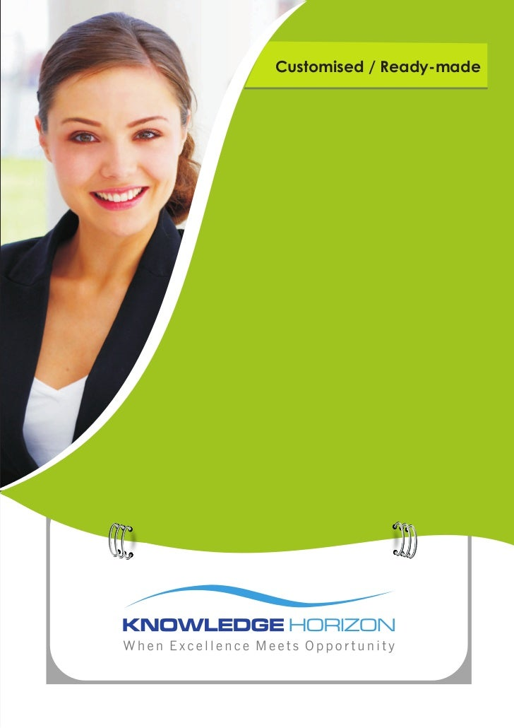 Customised / Ready-made    Training e-LearningConsultancy