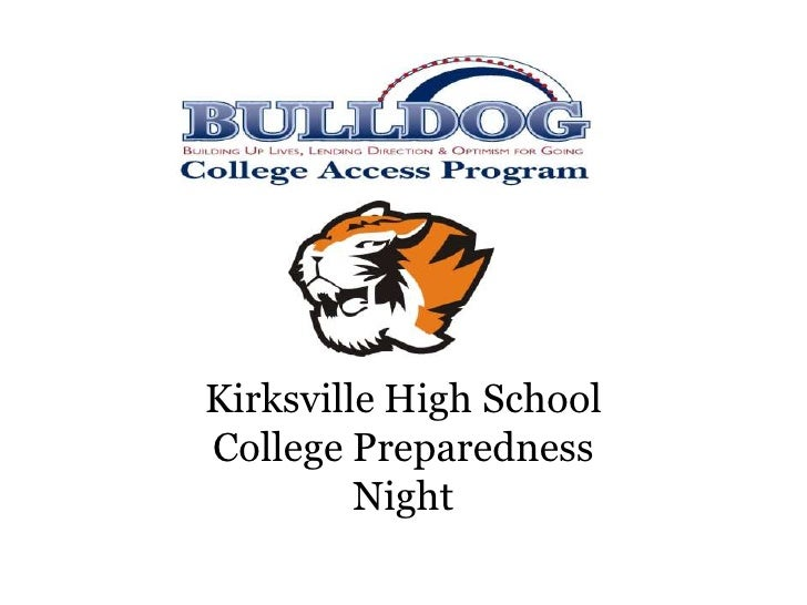 KHS College Night Presentation
