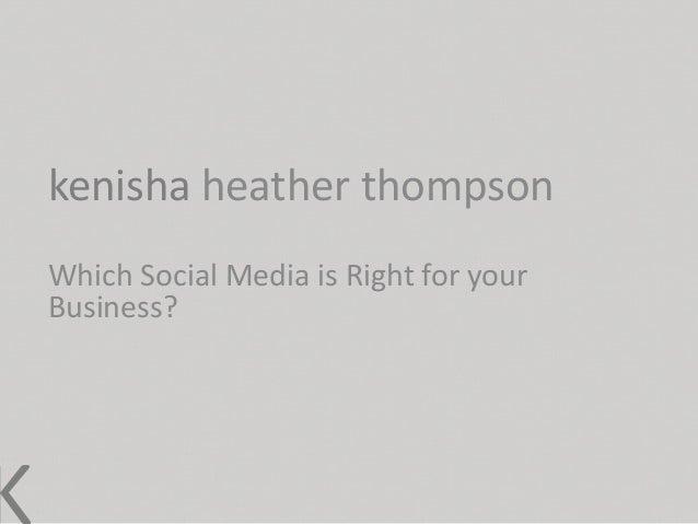 Kh thompson presentation