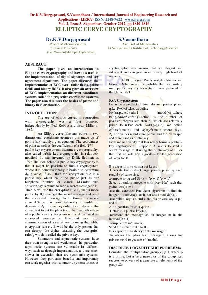 Dr.K.V.Durgaprasad, S.Vasundhara / International Journal of Engineering Research and                 Applications (IJERA) ...