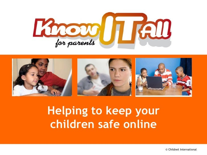 Know it All - Parents eSafety Presentation