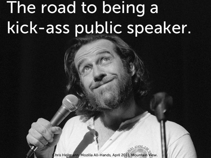 The road to being a kick-ass public speaker