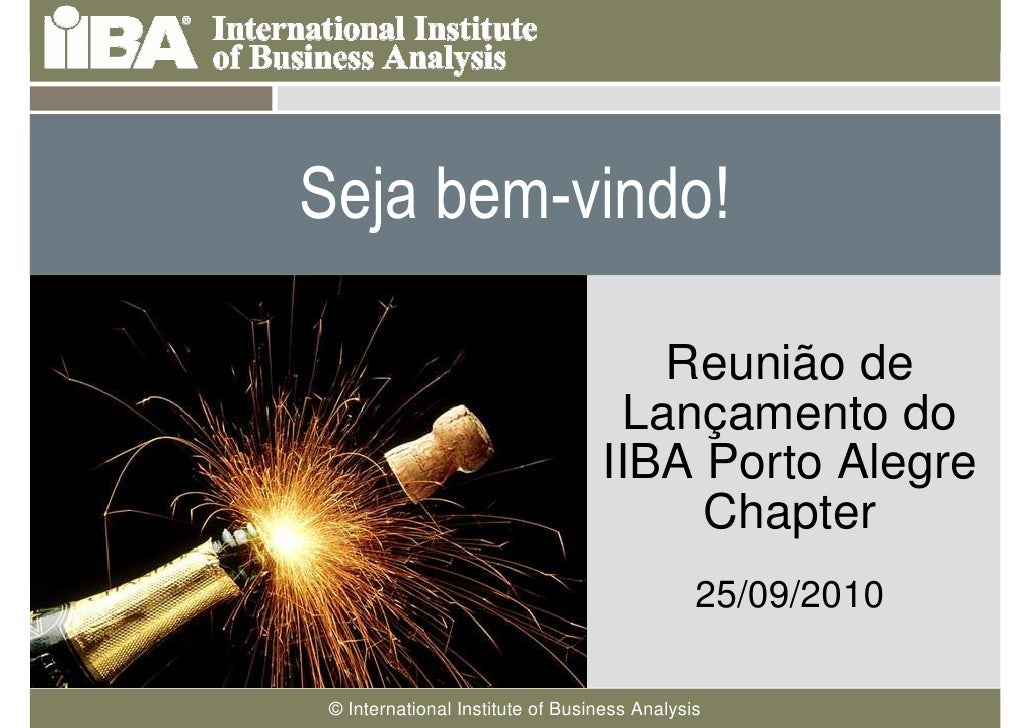 Seja bem-vindo!  Cover this area with a                                Reunião de picture related to your presentation. It...