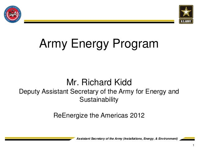 2012 Reenergize the Americas Keynote: Richard G. Kidd