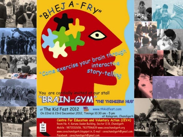 Ceva's    Brain Gym @Kidfest2012… Kalagram, Chandigarh