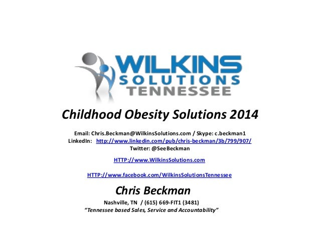 Solving the Childhood Obesity Problem... Should it Start IN the Classroom??