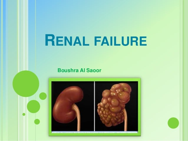 RENAL FAILURE Boushra Al Saoor